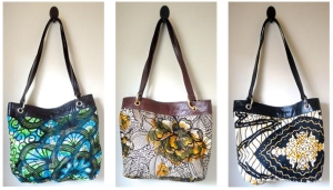 fabric & leather purses copy