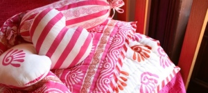 Pink Baby Quilt 2